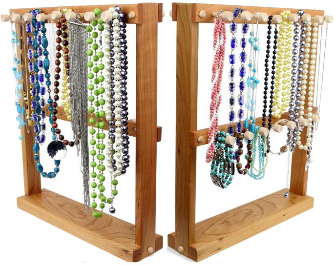 Tom S Earring Holders Cherry Necklace Holder